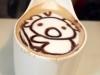 奶茶上面有拉花!是無尾熊!超可愛>////<