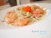 鮮蝦魚卵義大利麵