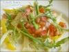 野菜鮭魚奶油義大利麵!