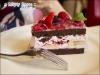 小夏點的莓果晶凍巧克力蛋糕!