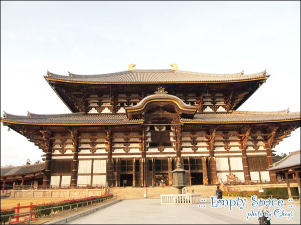 黃昏的東大寺大佛殿
