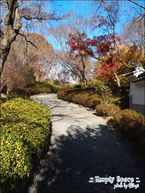 天龍寺的百花苑