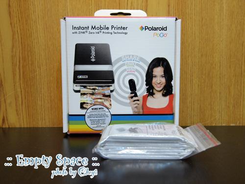 [生活] 新玩具!(其實也不新了)Polaroid 開箱照片(也拍很久…|||)
