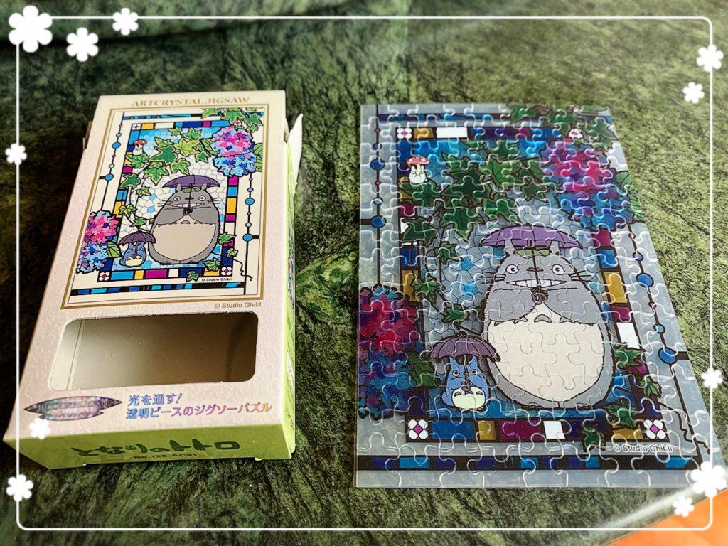 [玩具] 吉卜力透明拼圖(126片)